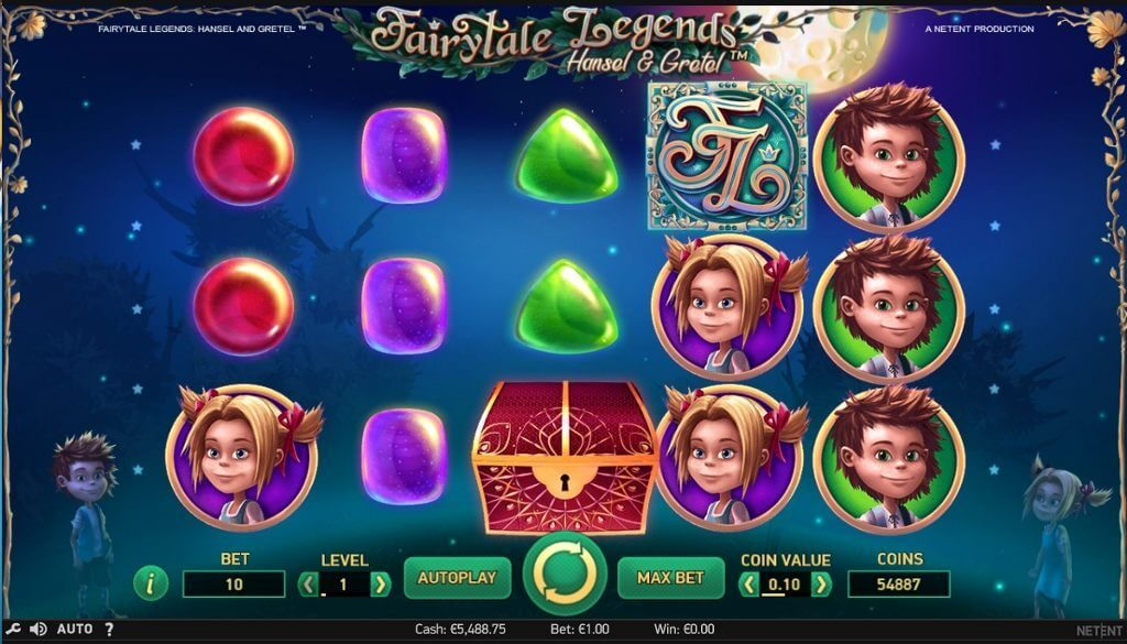 Hansel e Gretel slot machine