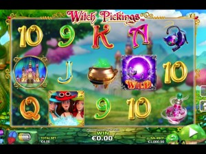 Withc Pickings Slot Machine