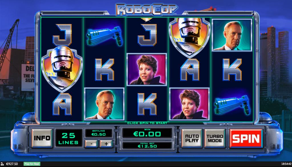 Robocop slot
