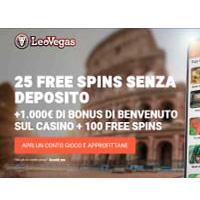 leovegas bonus senza deposito gratis